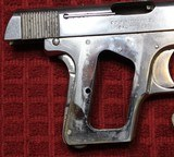 Colt 1908, Nickel with Factory Pearl Grips with Recessed Colt Medallions, Cal. .25 ACP - 20 of 25
