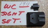 Wilson Combat Pyramid Sight Set Full Size Tritium 1911 Item Number 463T