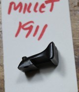 Millet Fixed Serrated Rear Sight for 1911 With Standard Dovetail - 2 of 10