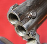 Remington O/U Derringer (E. Remington & Sons) Nickel Plated - 13 of 25