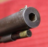 Large Frame Allen & Thurber Single Shot Side Hammer Percussion Target Pistol - 23 of 25