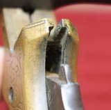 Southerner Derringer by Brown ManufacturingSN 1650 Engraved w Ivory Grips - 21 of 25