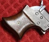 REMINGTON VEST POCKET 41RF CAL. SAW HANDLE DERRINGER CIRCA 1860'S. - 10 of 25