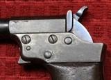 REMINGTON VEST POCKET 41RF CAL. SAW HANDLE DERRINGER CIRCA 1860'S. - 6 of 25