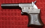REMINGTON VEST POCKET 41RF CAL. SAW HANDLE DERRINGER CIRCA 1860'S.