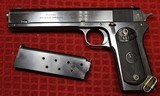 """Colt Model 1902 Military Pistol 38 Rimless Smokeless, 6"""" barrel.Manufactured in 1921"""
