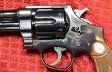 """Smith & Wesson 38/44 Heavy Duty 38 Special 5"""" Barrel Pre-War.No S in the serial Number - 7 of 25"""