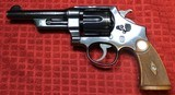 """Smith & Wesson 38/44 Heavy Duty 38 Special 5"""" Barrel Pre-War.No S in the serial Number - 1 of 25"""