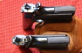 Documented Factory Inscribed St. Louis Police Dept. Colt Super 38 Semi-Automatic Pistol Consecutive Pair - 23 of 25