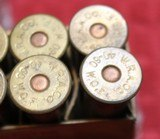 Vintage Winchester 40-60 40 Caliber 60 Grs 210 Grs Bullet box of 20 Cartridges - 13 of 21