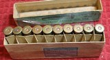 Vintage Winchester 40-60 40 Caliber 60 Grs 210 Grs Bullet box of 20 Cartridges - 12 of 22