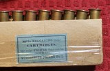 Vintage Winchester 40-60 40 Caliber 60 Grs 210 Grs Bullet box of 20 Cartridges - 8 of 22