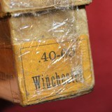 Vintage Winchester 40-60 40 Caliber 60 Grs 210 Grs Bullet box of 20 Cartridges - 22 of 22