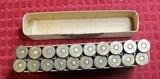 Vintage U.M.C. 40-70 40 Caliber 70 Grs 330 Grs Bullet box of 20 Cartridges .40-70-330 - 7 of 18