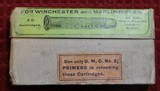 Vintage U.M.C. 40-70 40 Caliber 70 Grs 330 Grs Bullet box of 20 Cartridges .40-70-330