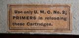 Vintage U.M.C. 40-70 40 Caliber 70 Grs 330 Grs Bullet box of 20 Cartridges .40-70-330 - 12 of 18