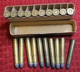 Vintage U.M.C. 40-70 40 Caliber 70 Grs 330 Grs Bullet box of 20 Cartridges .40-70-330 - 8 of 18