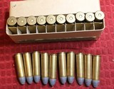 Vintage Winchester .50-70 Government Center Fire Cartridges Box of 20 - 14 of 25
