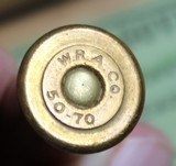 Vintage Winchester .50-70 Government Center Fire Cartridges Box of 20 - 23 of 25