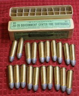 Vintage Winchester .50-70 Government Center Fire Cartridges Box of 20 - 18 of 25
