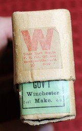 Vintage Winchester .50-70 Government Center Fire Cartridges Box of 20 - 6 of 25