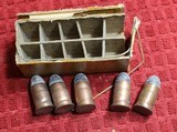 Remington 1871 U.S. Army .50 CAL. Center Fire Rolling Block Pistol Ten Round Box of Ammunition - 10 of 18