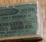 Antique Ammo 38 Long Rimfire Winchester Brand cartridges Unopened Box of 50 - 11 of 16