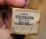 Winchester .22 W.R.F. Caliber 50 Rounds H Head Stamp Purple label Unopened Box - 16 of 17