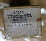 Winchester .22 W.R.F. Caliber 50 Rounds H Head Stamp Purple label Unopened Box - 6 of 17