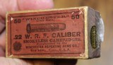 Winchester .22 W.R.F. Caliber 50 Rounds H Head Stamp Purple label Unopened Box - 8 of 17