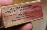 Winchester .22 W.R.F. Caliber 50 Rounds H Head Stamp Purple label Unopened Box - 10 of 17