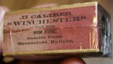 Winchester .22 W.R.F. Caliber 50 Rounds H Head Stamp Purple label Unopened Box - 9 of 17