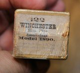 Winchester .22 W.R.F. Caliber 50 Rounds H Head Stamp Purple label Unopened Box - 17 of 17