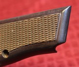 Original Browning Hi Power HP 35 Factory Grips Walnut 9mm - 7 of 25