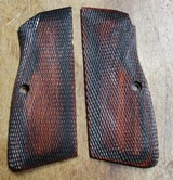 Aftermarket Browning Hi Power HP 35 Grips Wood for 9mm or 40S&W BHP