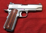 Action Works Custom 1911 Commander 45ACP Stainless by Don Williams - 2 of 25