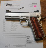 Action Works Custom 1911 Commander 45ACP Stainless by Don Williams