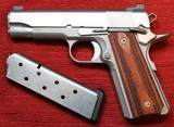 Action Works Custom 1911 Commander 45ACP Stainless by Don Williams - 3 of 25