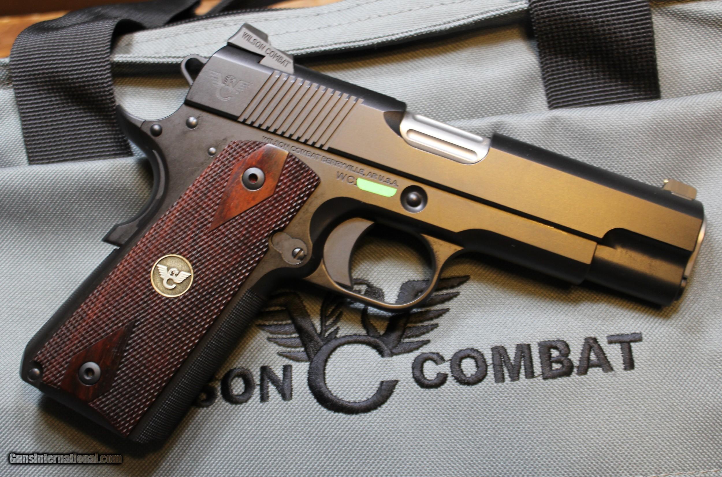 Wilson Combat CQB Commander 1911 45ACP with upgrades