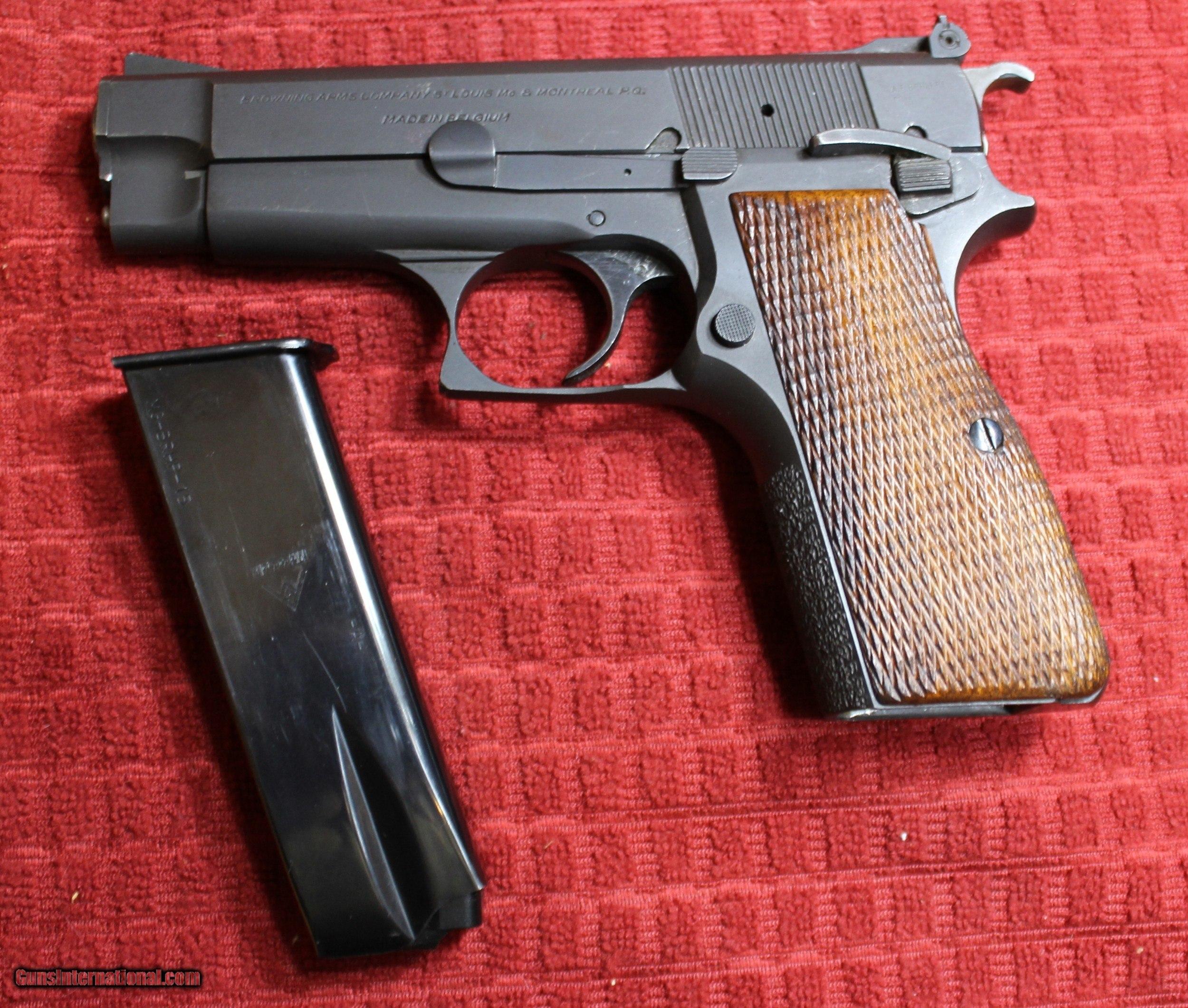 Browning Hi Power HP Mini 9mm Custom by Austin Behlert