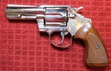 "Colt Detective Special 3"" Barrel Full Nickel