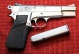 Jim Hoag Hard Chrome Browning Hi Power 9mm BHP - 2 of 25