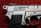 Jim Hoag Hard Chrome Browning Hi Power 9mm BHP - 4 of 25