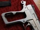 Jim Hoag Hard Chrome Browning Hi Power 9mm BHP - 22 of 25