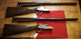 Arrieta Engraved Consecutive Serial Number Matched Pair of 20 Gauge Side By Side Shotguns