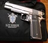 Elite Warrior Armament 1911 38 Super 9mm Stainless Steel Rail Pistol - 4 of 25