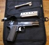 Elite Warrior Armament 1911 38 Super 9mm Blue Steel Pistol