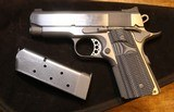 CT Brian Custom Colt Officers 1911 45ACP Stainless Pistol