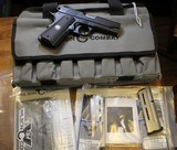 Wilson Combat Professional Compact Armortuff 9mm with upgrades 1911