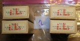 Wartime WWII 7.92×57mm Mauser s.S. Patrone 4 Boxes of 15 Rds each or 60 Rds 1934 Vintage